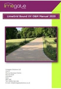 O&M Manual LimeGrid Bound UV