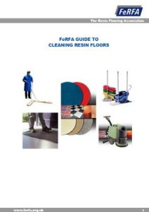 LimeBonded Decorative Surfacing System FeRFA Cleaning Guide Resin Floors