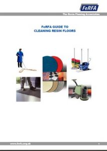 FeRFA Cleaning Guide Resin Floors