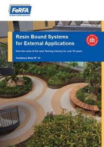 LimeBound Resin Bound Surfacing UV System FeRFA Resin Bound Technical Guidance Note