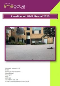 LimeBonded Decorative Surfacing System LimeGate Solutions OM Manual LimeBonded