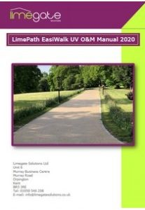 LimePath EasiWalk UV O&M Manual